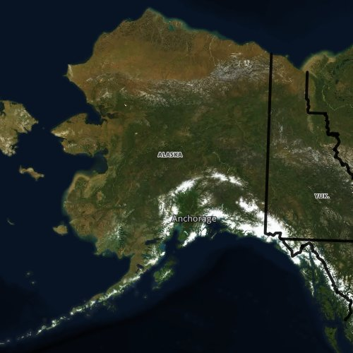 Fly fishing report and map for Alaska.