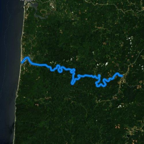 Alsea Oregon Map.Alsea River Oregon Fishing Report