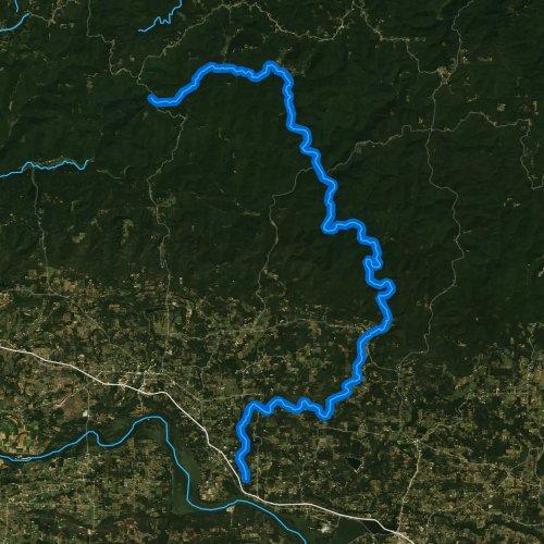 Big Piney Creek, Arkansas Fishing Report