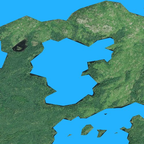 Fly fishing map for Bonnie Lake, Minnesota