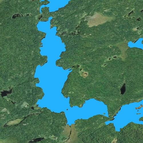 Fly fishing map for Boot Lake: St. Louis, Minnesota