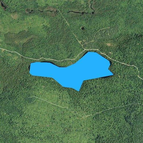 Fly fishing map for Chester Lake, Minnesota