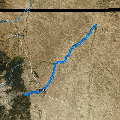 Clear Creek, Wyoming Fishing Report