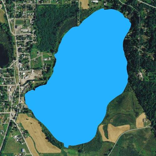 Fly fishing map for Clear Lake: Skagit, Washington