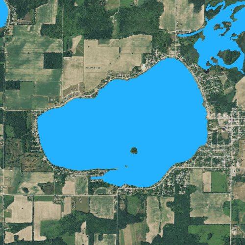 map of crystal lake michigan Crystal Lake Montcalm Michigan Fishing Report map of crystal lake michigan