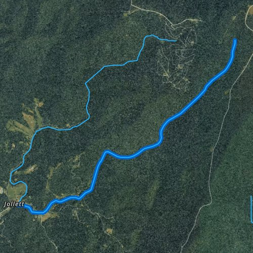West Branch Naked Creek, Virginia Fishing Report
