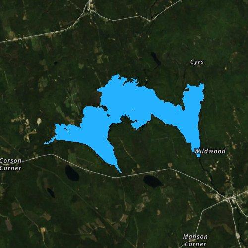 Great Moose Lake Maine Fishing Report