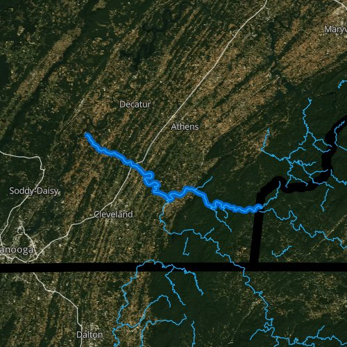 Fly Fishing Tennessee Map.Hiwassee River Tennessee Fishing Report