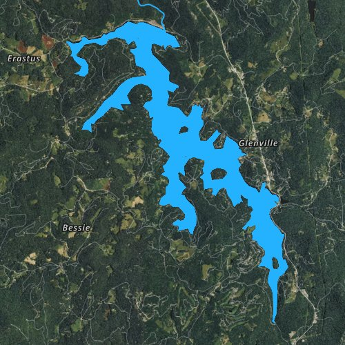 lake glenville nc map Lake Glenville North Carolina Fishing Report lake glenville nc map