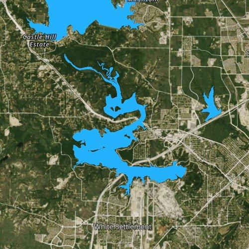 map of lake worth tx Lake Worth Texas Fishing Report map of lake worth tx