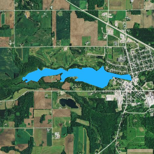 Marion Wisconsin Map.Marion Pond Wisconsin Fishing Report