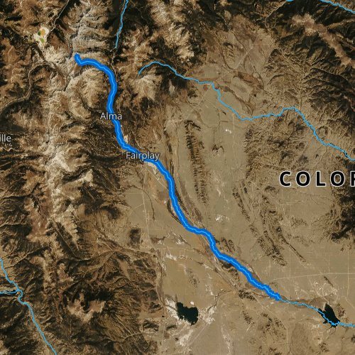 Middle Fork South Platte River Colorado Fishing Report