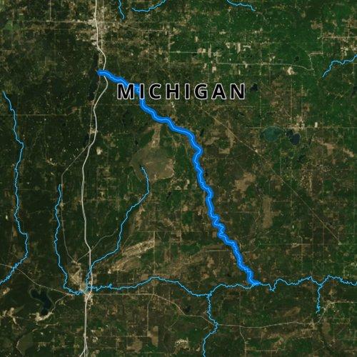 North Branch Au Sable River, Michigan Fishing Report