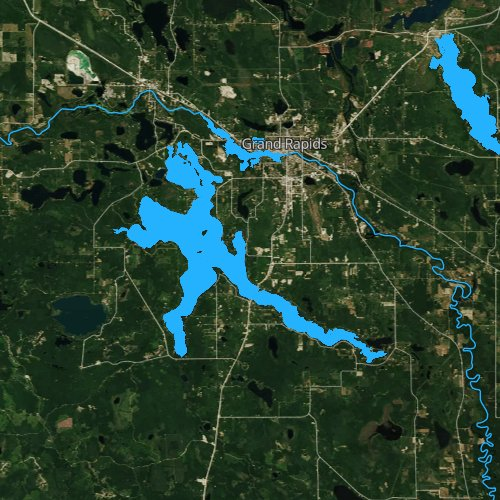 Pokegama Lake Minnesota Fishing Report - Pokegama lake map
