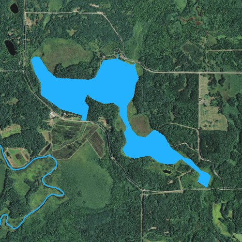 Pokegama Lake Wisconsin Fishing Report - Pokegama lake map