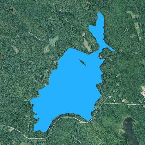 Porter Maine Map.Porter Lake Maine Fishing Report