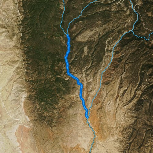 Rio guadalupe new mexico fishing report for Trout fishing new mexico map