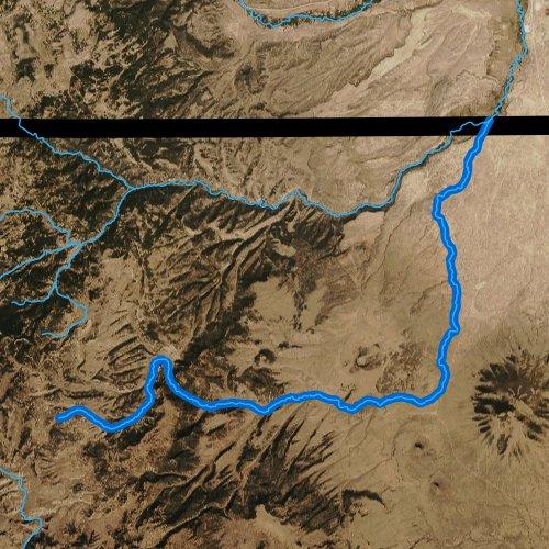 Rio San Antonio, New Mexico Report Fly New Mexico Maps on
