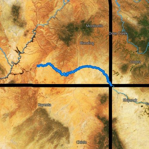 San Juan River Utah Map.San Juan River Utah Fishing Report