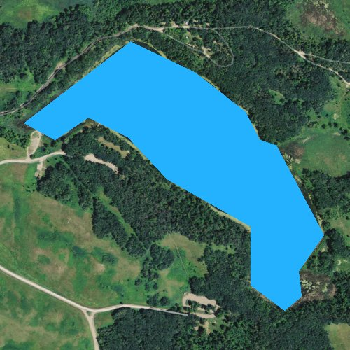 Fly fishing map for Signalness Lake, Minnesota