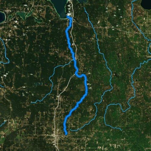 sturgeon river michigan map Sturgeon River Burt Lake Michigan Fishing Report